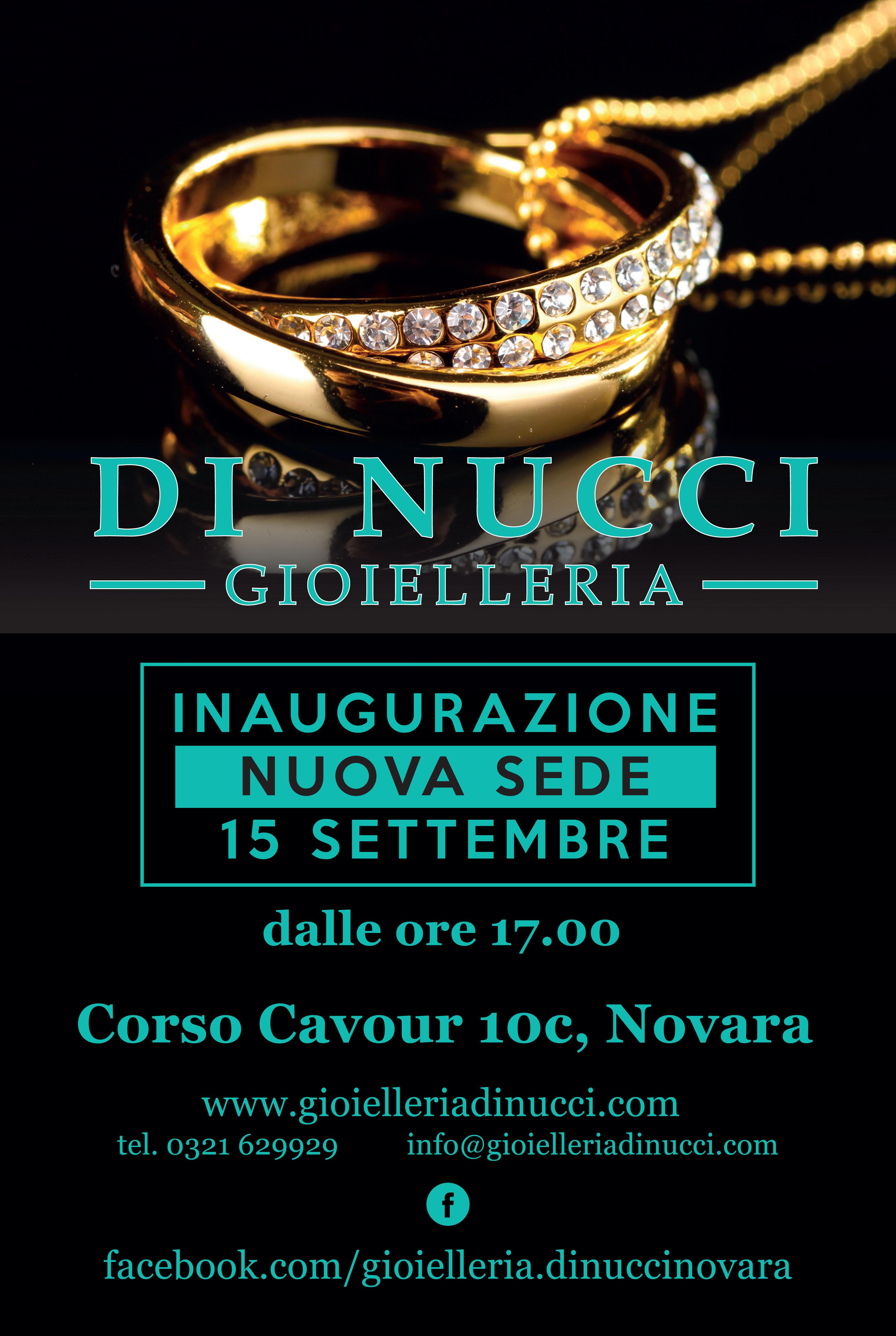 La Gioielleria Di Nucci torna nel centro storico di Novara dopo 45 anni
